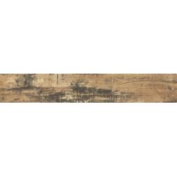 Plinthe pour carrelage imitation parquet rectifié style vintage ELBRUS 7x60 cm - 15 plinthes/boite