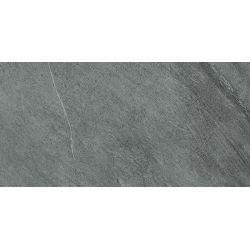 Carrelage anti-dérapant en grès cérame rectifié effet pierre CAIRNS GRIGIO SCURO ANTISLIP 30X60 - 1,08m²