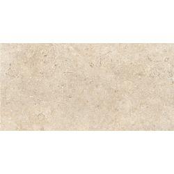 Carrelage brillant en grès cérame effet pierre de Jérusalem GOLDCOAST IVORY 60,4X90,6 - 1,64 m²