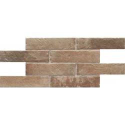 Carrelage effet brique de parement BEJA SOUTH 25X50 - 0,75m²