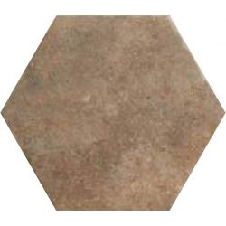 Carrelage hexagonal antidérapant effet pierre BEJA SOUTH 28,5X32,5 - 1,05m²