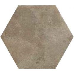 Carrelage hexagonal antidérapant effet pierre BEJA WEST 28,5X32,5 - 1,05m²