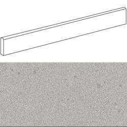 Plinthe imitation terrazzo9,4x60cmGALBE CENIZA- 1unité