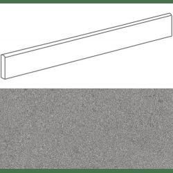 Plinthe imitation terrazzo9,4x80cmGALBE GRIS- 1unité