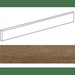 Plinthe grès cérame imitation parquetPRATO MARRON 9,4X59,3- 15 unités