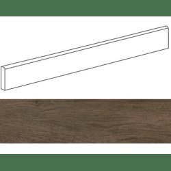 Plinthe grès cérame imitation parquetPRATO NOCE 9,4X59,3- 15 unités
