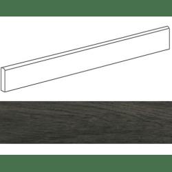 Plinthe grès cérame imitation parquetPRATO ANTRACITA 9,4X59,3- 15 unités