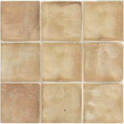 Carrelage beige effet zellige FARRIO COTTO 30,5X30,5 - 1,02m²
