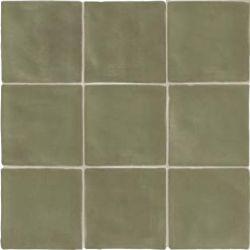 Carrelage vert effet zellige FARRIO KALE 30,5X30,5 - 1,02m²