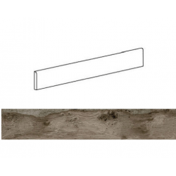 Plinthe effet bois 6x60cm WOODMANIA Ash - 8.40 ml