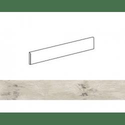 Plinthe effet bois 6x60cm WOODMANIA Ivory - 8.40 ml