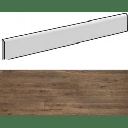 Plinthe aspect bois AREZZO TERRA 7,5X90- 4 Unités