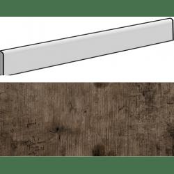 Plinthe aspect bois MODENA MARRON 9,4X59,3- 15 Unités