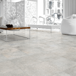 Lot de 28.08 m² - Carrelage imitation ciment 30x30 cm RIBADEO Blanco anti-dérapant R10 - Lot 28.08 m²