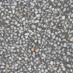 Lot de 4.95 m² - Carrelage imitation Terrazzo Granito 30x30 cm Amalfi Grafito anti-dérapant R10