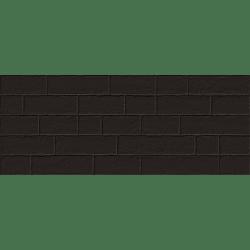 Lot de 4 m²  Parement mural briquettes noires Marlon Edale Negro 20x50cm - 4 m²