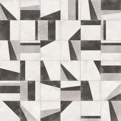 Lot de 15 m² - Carrelage motifs anciens 20x20 cm Osaka Blanco - 15 m²