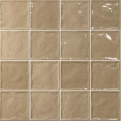Lot de 4 m² -  Carrelage effet zellige 15x15 CHIC BEIGE - Lot de 4 m²