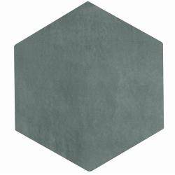 Lot de 4.62 m² - Carrelage tomette gris bleu 22.5x26cm CONCRET PARIS - 0.66m² Lot de 4.62 m²