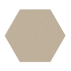 Lot de 14 m² - Carrelage tomette design unie Beige CREAM 15x17cm NEW PANAL - 14 m²