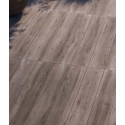 Carrelage parquet rectifié WOOD R161G 16.5x100 cm antidérapant R11 - 0.99m²