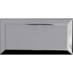 Carrelage Métro Argent miroir 10x20 cm - unité