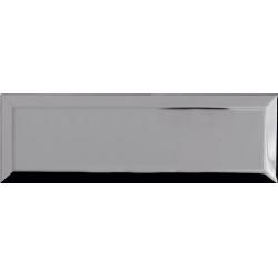 Carrelage Métro Argent miroir 10x30 cm - unité