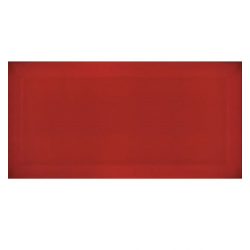 Carreau métro Rouge brillant 7.5x15cm - 1m² Ribesalbes