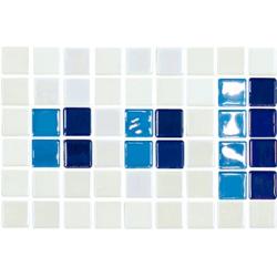 Frise piscine bleu 23.4x15.2 cm 2003389 Cenefa 18 - unité
