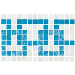 Frise piscine bleu turquoise 36.1x23.4 cm 2003392 Cenefa 21 - unité