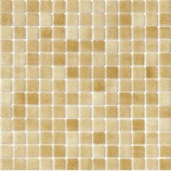 Mosaique piscine Nieve beige ocre orangé 3008 31.6x31.6 cm - 2 m²