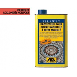 Protecteur pour sols en pierres naturelles à effet mouillé FILAWET 1 L