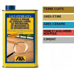 ANTI-INFILTRATIONS MINERALISANT ET RESPIRANT Salvaterrazza 1L