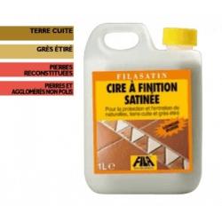 Cire de Protection pour terre cuite et pierre Fila Satin 1 L