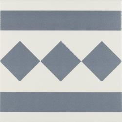 Carrelage de bordure 20x20 cm ANTIGUA AZUL - 1m² Ribesalbes