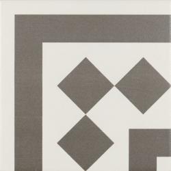 Carrelage d'angle 20x20 cm ANTIGUA GRIS - unité