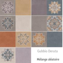 Faience style Ciment et Patiné GUBBIO DERUTA 20x40 cm - 1.12m²