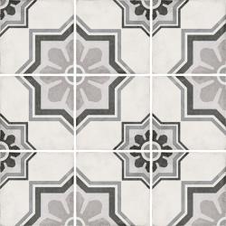 Carrelage style ciment 20x20 cm ART NOUVEAU CAPITOL GREY 24413 - 1m² Equipe