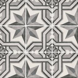 Carrelage style ciment 20x20 cm ART NOUVEAU CINEMA GREY 24414 - 1m² Equipe