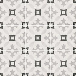 Carrelage style ciment 20x20 cm ART NOUVEAU KARLSPLATZ GREY 24417 - 1m²