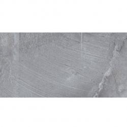 Carrelage effet pierre Boldstone Gris 32x62.5cm - 1m²