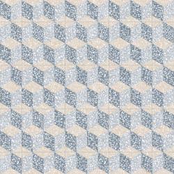 Carrelage imitation ciment 30x30 cm Cavour Azul anti-dérapant R10 - 0.99m² Vives Azulejos y Gres