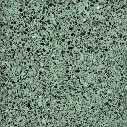 Carreau terrazzo véritable pleine masse Vert 40x40 cm ref PP17 - 0.80m²