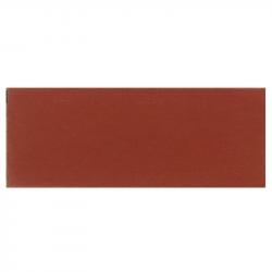 Plinthe de carreau de ciment véritable unie ACAJOU 10x20 cm - 4mL