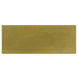 Plinthe de carreau de ciment véritable unie VERT OLIVE 10x20 cm - 4mL