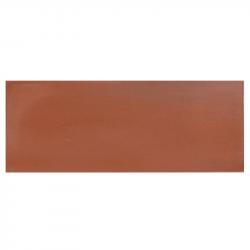 Plinthe de carreau de ciment véritable unie SIENNE 10x20 cm - 4mL