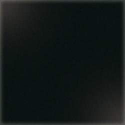 Carrelage uni 5x5 cm noir brillant LAVA sur trame - 1m²