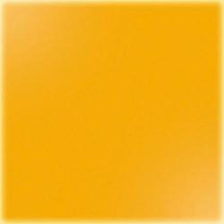 Carrelage uni 5x5 cm orangé brillant ZOLFO sur trame - 1m²