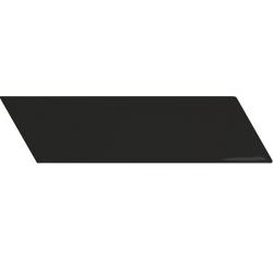 Chevron Wall black brillant ou mat 18,6x5,2 cm - réf. 23356-23366-23357-23367 - 0.5m²