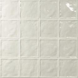 Carrelage effet zellige blanc 15x15 CHIC NEUTRO - 1m² El Barco